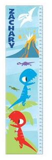 Blue Dinosaur Growth Chart - Free Shipping