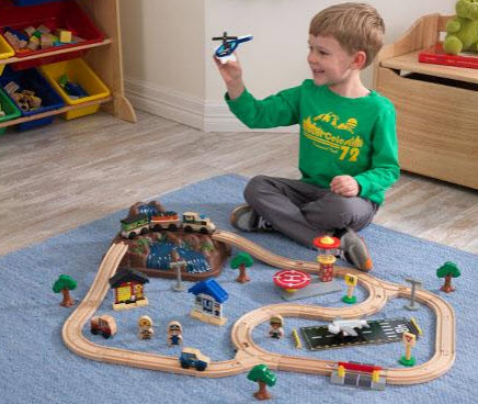 KidKraft Bucket Top Mountain Train Set - Out of Stock