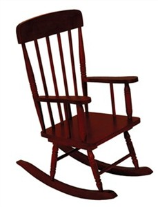 KidKraft Cherry Spindle Rocking Chair