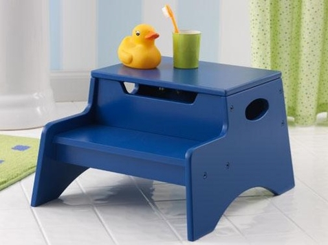 KidKraft Dark Blue Step n Store Step Stool
