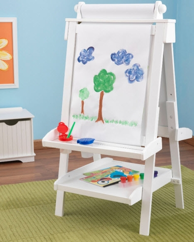 KidKraft Deluxe White Easel - Out of Stock