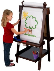 KidKraft Deluxe Espresso Easel - Out of Stock