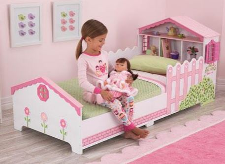 Dollhouse Toddler Bed - Free Shipping
