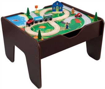 KidKraft Espresso Activity Table