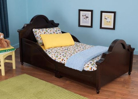 Espresso Raleigh Bed - Free Shipping