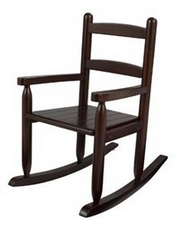 KidKraft Espresso Slat Rocking Chair - Out of Stock