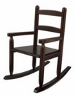 KidKraft Espresso Slat Rocking Chair