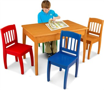 KidKraft Euro Table & 4 Chair Set