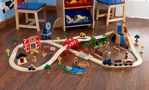 KidKraft Farm Train Set - Out of Stock