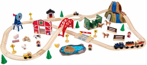 KidKraft Figure 8 Train Set - Out of Stock