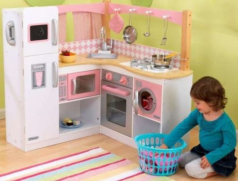 Grand Gourmet Play Kitchen - Free Shipping