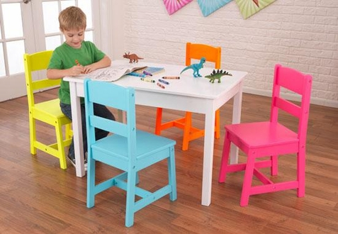 KidKraft Highlighter Table & 4 Chair Set - Out of Stock