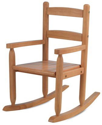 KidKraft Honey 2 Slat Rocking Chair