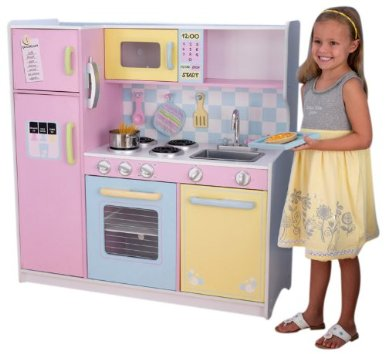 Large Pastel Kitchen - Free Shipping