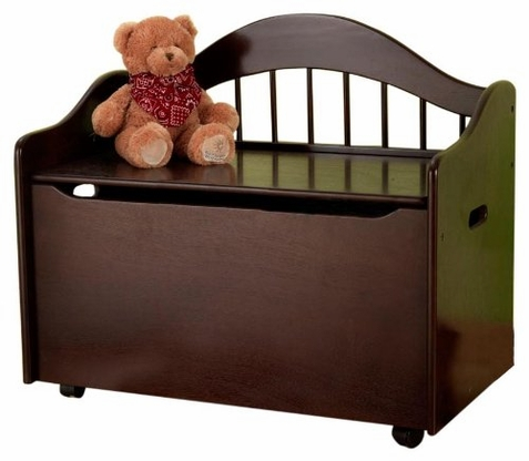 Limited Edition Espresso Toy Box - Free Shipping