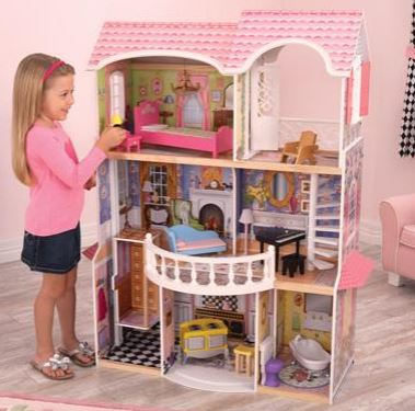 Magnolia Mansion Dollhouse - Free Shipping