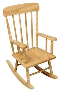 KidKraft Natural Spindle Rocking Chair