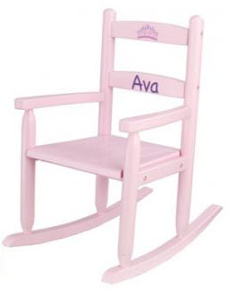 KidKraft Pink 2 Slat Rocking Chair