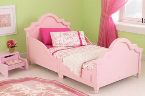 Pink Raleigh Bed - Free Shipping
