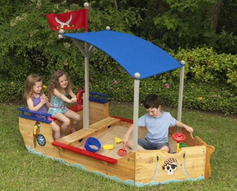 KidKraft Pirate Sandboat - Out of Stock