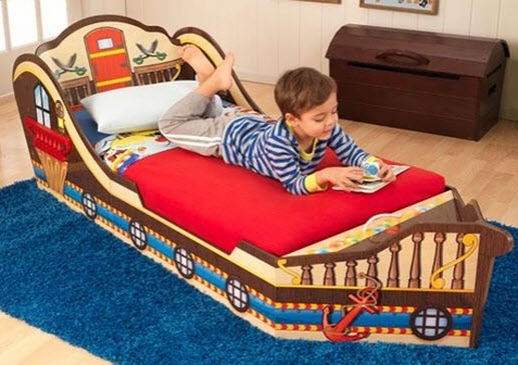 KidKraft Pirate Toddler Bed - Free Shipping