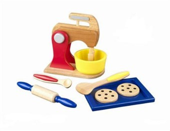 KidKraft Primary Color Toy Baking Set