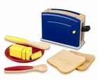 KidKraft Primary Color Toy Toaster Set