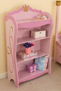 KidKraft Princess Bookcase - Out of Stock