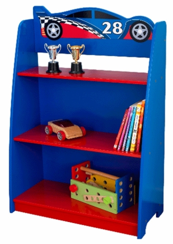 KidKraft Racecar Bookcase - Out of Stock