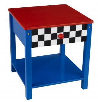 KidKraft Racecar Side Table - Out of Stock