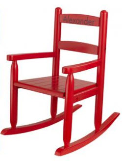 KidKraft Red 2 Slat Rocking Chair - Out of Stock