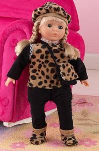 "Sarah 18"" Blonde Doll - Free Shipping"