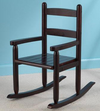 Slat Rocking Chair in Cherry - Free Shipping