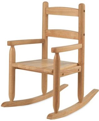 KidKraft Slat Rocking Chair in Natural