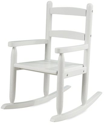 KidKraft Slat Rocking Chair in White