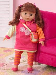 "KidKraft Sydney 18"" Red Head Doll"