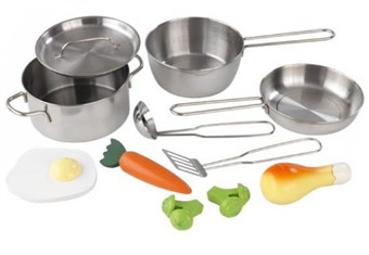 KidKraft Toy Pots & Pans Accessories Set
