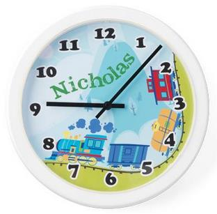 KidKraft Train Wall Clock - Free Shipping