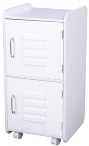 KidKraft White Wood Locker