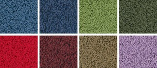 KIDply Soft Solid Color Carpets