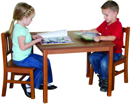 Kids Mission Table & Chairs Set