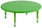 ECR4Kids Kids Round Resin Activity Table - Out of Stock