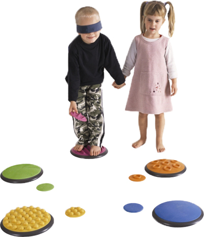 Kids Tactile Discs - Set 1