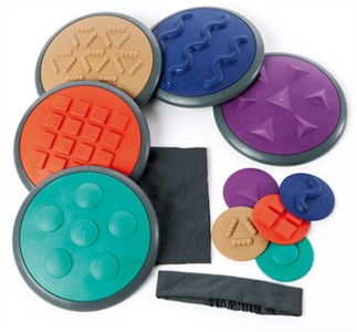 Kids Tactile Discs - Set 2