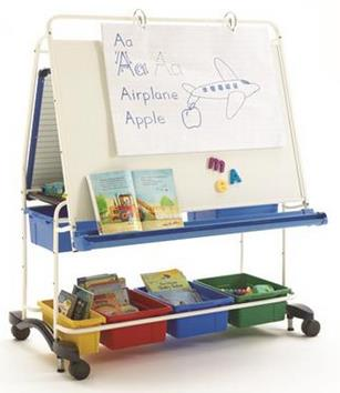 Copernicus King Royal Reading Writing Center with Standard Tub Pack