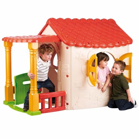 ECR4Kids Lake Cottage Children's Playhouse