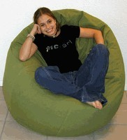 King Beany Large Brushed Cotton Bean Bag