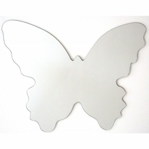 Large Butterfly Peel Stick Mirror