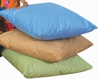 Large Cozy Woodland Light Tone Floor Pillows - Set of 3