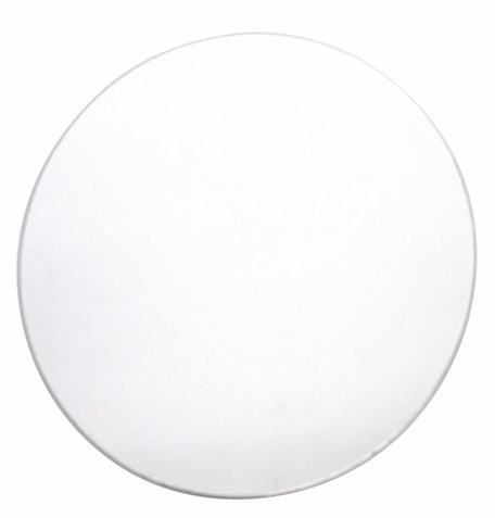 Large Dot Circle Peel Stick Mirror